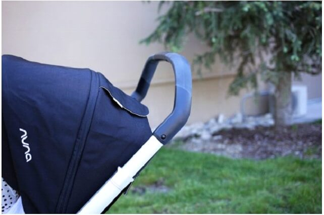 Nuna Mixx Stroller Review - handle for tall and short parents