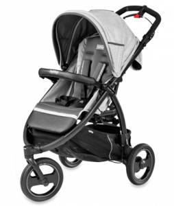 Peg Perego Book Cross Stroller Review - automatic lock stroller for baby