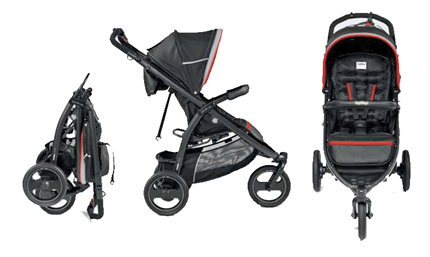 Peg Perego Book Cross Stroller Review - compact fold and smooth stroller ride