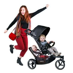 Phil & Teds Dot Inline Stroller with Second Seat Review - pefect stroller for first time mother