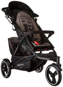 Phil & Teds Dot Inline Stroller with Second Seat - stroller for growing family