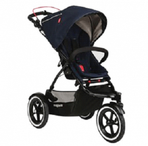 Phil and Teds Navigator with Auto Stop Stroller Review -auto stop stroller for baby