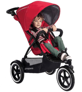 Phil and Teds Navigator with Auto Stop Stroller Review best all terrain stroller