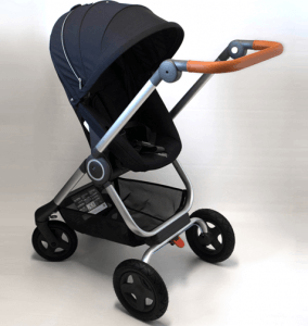 Stokke Scoot V2 Stroller Review - In Black Color