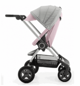 Stokke Scoot V2 Stroller Review - In Pink Cover