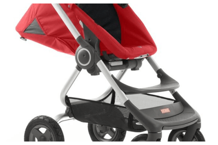 Stokke Scoot V2 Stroller Review - Storage Box Under The Seat