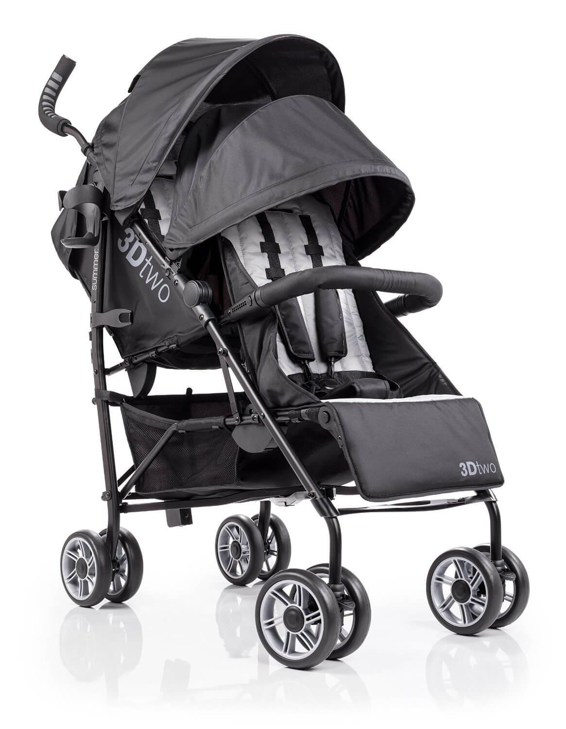 Summer Infant 3D Two Double Convenience Stroller Review - best summer infant stroller
