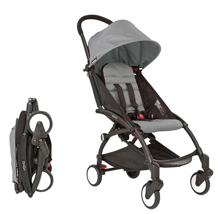 Babyzen YoYo Stroller Review- Storage basket