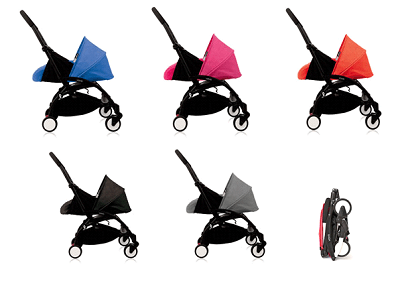 Babyzen YoYo Stroller Review- Material & color