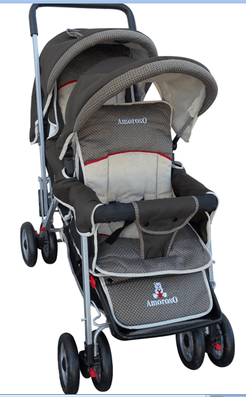 Amoroso Deluxe Double Baby Stroller Review