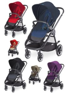 Cybex Balios M All-Terrain Stroller Review - baby stroller with multiple color option
