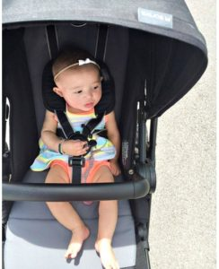 Cybex Balios M All-Terrain Stroller Review - enough space for baby leg stretching