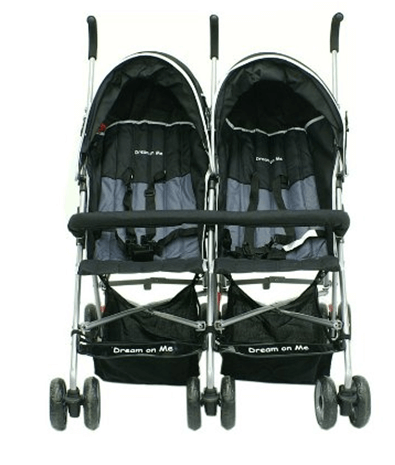 Dream On Me Double Twin Stroller Review - best tandem double umbrella stroller
