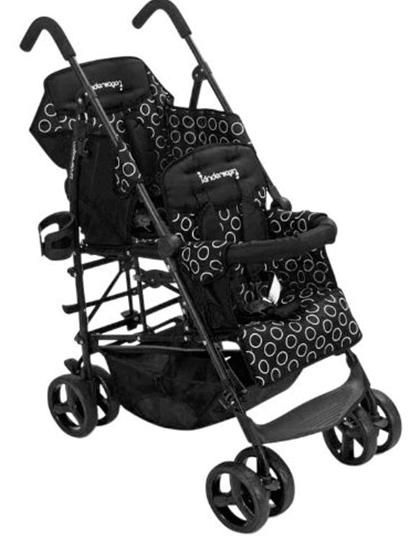 Kinderwagon Hop Tandem Stroller Review - Tandem Umbrella Stroller