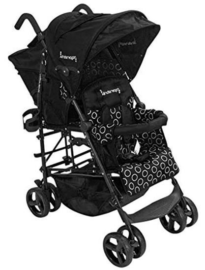 Kinderwagon Hop Tandem Stroller Review - best Tandem Umbrella Stroller lightweight stroller