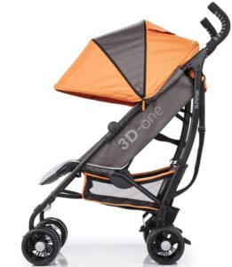 Summer Infant 3D One Convenience Stroller Review - confortable canopy for baby stroller