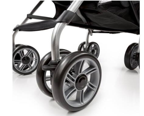 Summer Infant 3D Zyre, Convenience Stroller Review - big wheels for baby safety stroller