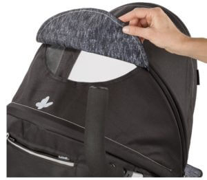Summer Infant 3D Zyre, Convenience Stroller Review - confortable canopy for baby stroller