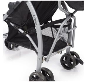 Summer Infant Go Lite Convenience Stroller Review - under the seat big basked