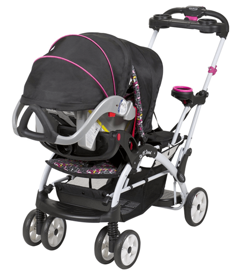 Baby Trend Hello Kitty Sit N Stand Ultra Stroller - big storage under the baby stroller