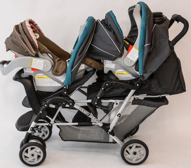 Graco DuoGlider Classic Connect Stroller - high quality material and comfortable rear seats