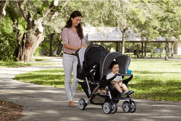 Graco DuoGlider Classic Connect Stroller - stroller can be clean with soap and lukewarm water