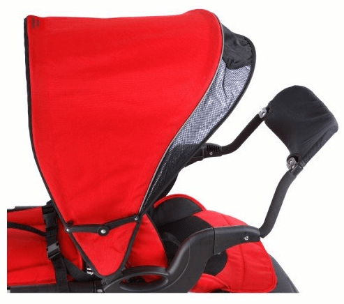 Mia Moda Compagno stroller - big canopy with comfortable material