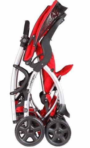 Mia Moda Compagno stroller - one hand fold stroller