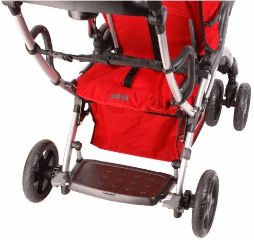 Mia Moda Compagno stroller - stroller with foot rest and big wheels