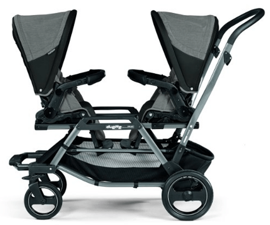 peg-perego-duette-piroet-atmosphereo-stroller - Baby Strollers for Twins With Car Seats