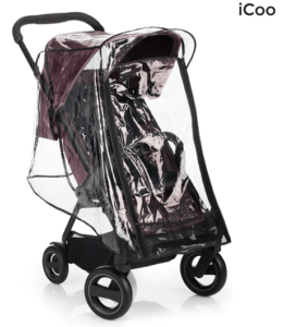 icoo-acrobat-travel-system-review-best-travel-system-stroller-for-baby-full-covered-rain-cover
