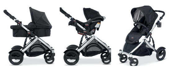 Britax B-Ready Stroller Review - Adjustable Canopy With Huge Basket