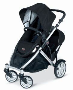 Britax B-Ready Stroller Review - Big wheels for easy pushing with one hand