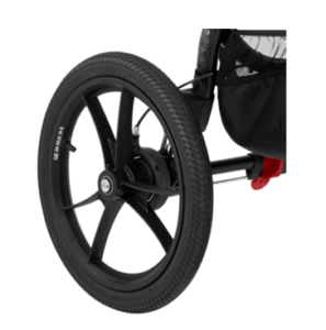 Baby Jogger 2016 Summit X3 Single Jogging Stroller Review -Big wheels for safe jogging stroller