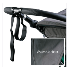 Bumbleride 2016 Speed Stroller Review - adjustable handle for tall and short parents