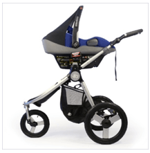 Bumbleride 2016 Speed Stroller Review - cofortable seat and canopy