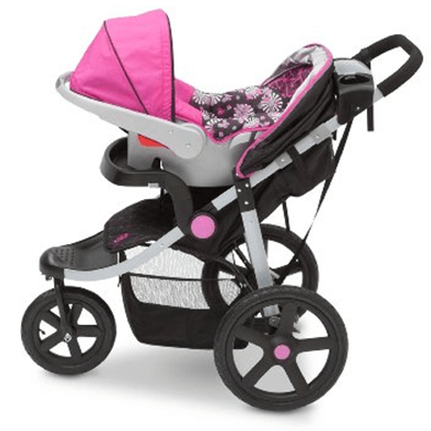 J is for Jeep brand Adventure All-Terrain Jogging Stroller for infant