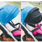 Nuna Tavo 2017 Stroller Review - Big canopy for baby protection from sun and snow