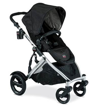 Best Top Standard Size Baby Strollers - Britax B Ready With Big Wheels Safe Stroller