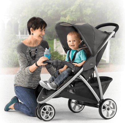 Best Top Standard Size Baby Strollers - Chicco Viaro stroller