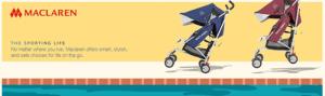 Best Top Standard Size Baby Strollers - Maclaren Triumph
