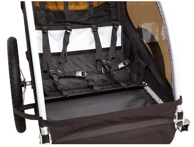 Burley Design Bee Bike Trailer - Best Bike Strollers for Baby 2017