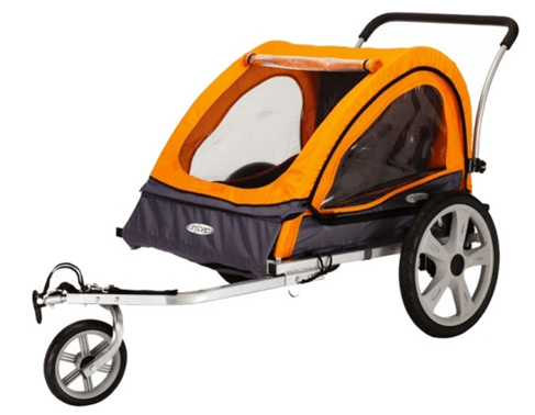 InSTEP Quick N EZ 10 Double Bicycle Trailer