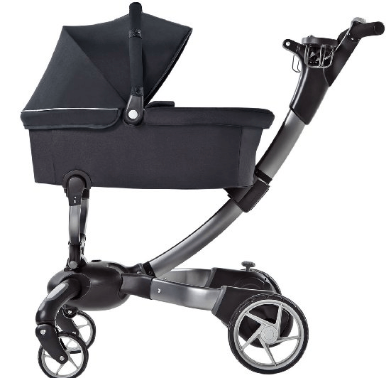 4moms Origami Stroller and Bassinet - Best Strollers with Bassinets for Newborns