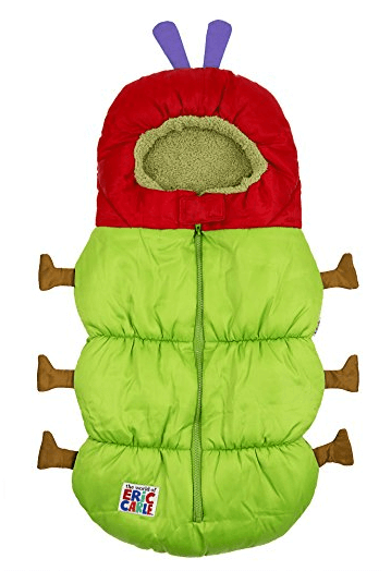 Eric Carle 2 in 1 Stroller and Infant Carrier Bag - Best Baby Stroller Buntings and Foot Muffs
