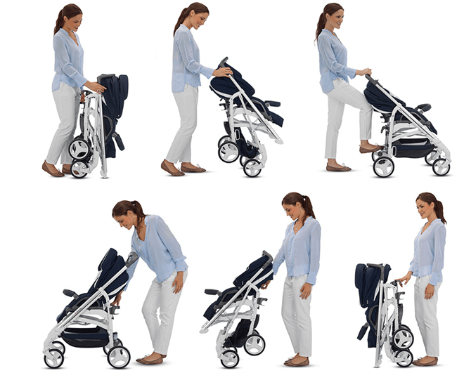 Inglesina - Trilogy Stroller with Bassinet - Best Strollers with Bassinets for Toddlers