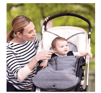 Skip Hop Stroll and Go Three-Season Foot muff - Best Baby Stroller Buntings and Foot Muffs