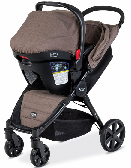 Britax B-Agile 4 Stroller Review - Best Lightweight Stroller For New Mom