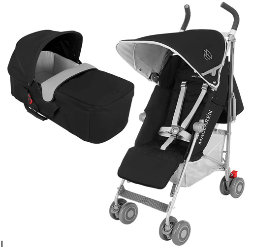 Maclaren Quest Stroller for new born baby with car seat