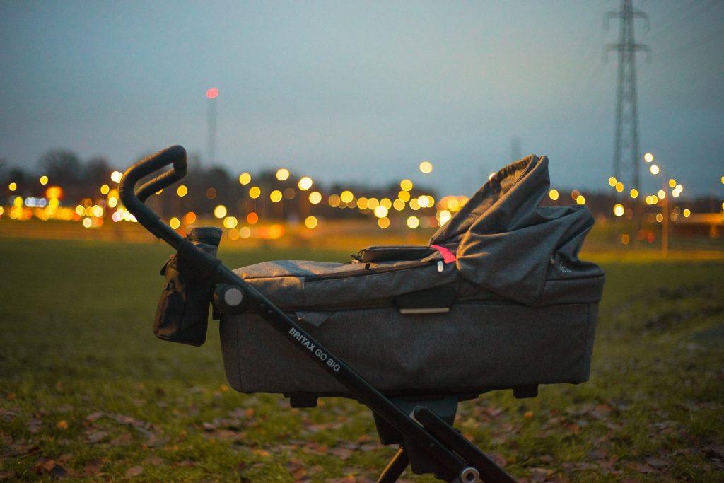 thule double stroller